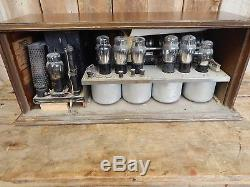 1929 Zenith Tube Radio Model 11E Vintage Estate Find