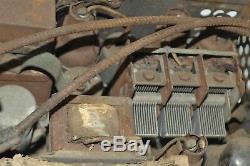 1930's old Classic ZENITH original car dash power tube radio box unit USA USA
