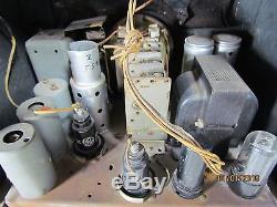 1936 Zenith 5-S-29 Tombstone Tube Radio Beautiful