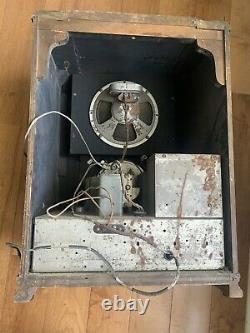 1936 Zenith Antique Vintage Tombstone Tube Radio