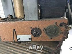 1937 Zenith Mini Console/ Childs Radio Chassis
