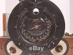1938 Zenith 12 Model 12 S 266 12s266 Console Shutter Dial