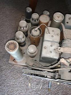 1938 Zenith Radio Robot Dial 12 tube Chassis
