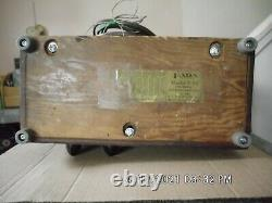 1939 Fada F55t Am 5 Tube Walnut Radio, Recapped, Refurbished, Working