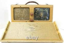 1941 Zenith Model 6G601M Portable Radio Wave Magnet Sailboat