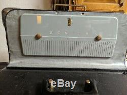 1942 Zenith Trans-Oceanic Clipper Model 8G005YT Shortwave Tube Radio
