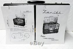 1950's vintage ZENITH TRANS-OCEANIC Portable Radio, foreign, domestic, shortwave