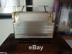 1950s ZENITH K401 Plastic Tube Radio & Case