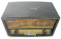 1950s Zenith G730 Tube Radio / Wood Cabinet AM FM withPhono Jack Working