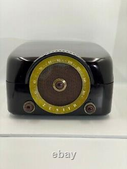 1951 Zenith COBRA MATIC H664 Variable Speed Phonograph/Radio Tube Amp As Is