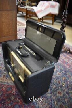 1956 Mid Century Vintage Zenith Short wave Tube Radio Model L600
