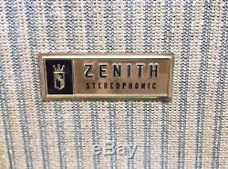 1961 Zenith FPS-80C Stereophonic Record Player- Restored