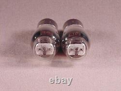 2 6J5G ZENITH Black Plate HiFi Antique Radio Amp Vintage Vacuum Tubes Codes 1R