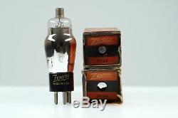 2 Vintage Zenith 39/44 VT-49 139 NU239 Pentode Radio Tube Valve- BangyBang Tubes