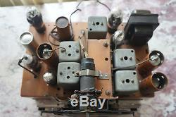9-Tube Zenith Shutterdial Radio Chassis Fits Walton and 9-S-262 Console