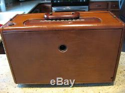 A600L Zenith Leather Transoceanic tube radio