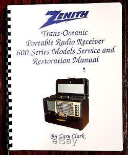 all new service restore manual for zenith trans oceanic 600 series rh zenithtuberadio cricket zenith radio manuals zenith radio manuals
