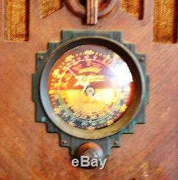 Antique 1936 Zenith AM / Shortwave / Police Bands Radio Model 5S29 Works