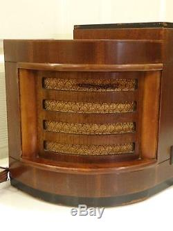 Antique 1939 ZENITH 6S322 Tube Radio NICE restored chassis