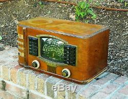 Antique 1941 Zenith Radio Model 7S633R Plays Really Nice