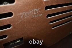 Antique Art Deco Zenith Table Top Tube Radio, Working Order
