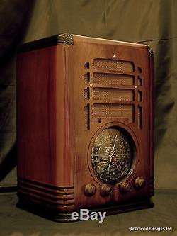 Antique Radio Zenith Model 5S127, 5 Tube, Tombstone, Restored, Warranty