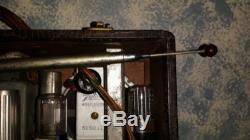 Antique ZENITH short wave portable radio wavemagnets