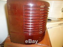 Antique Zenith AM Pancake Radio Restored