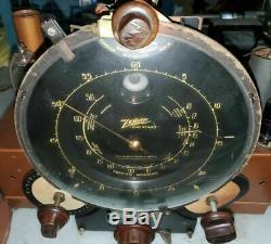 Antique Zenith Walton Tombstone Tube Radio Model 9-S-232 Components