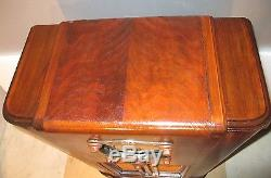 Antique Zenith vintage console tube radio restored and working