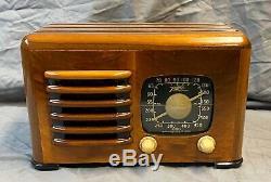 Beautiful, Working Zenith TOASTER Vacuum Tube Radio