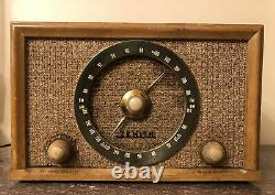 Classic Americana ZenithHigh FidelityAM/FM/PHONO Tube Radio Model #B835 C. 1956