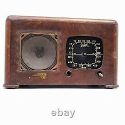 For Parts Only Vintage Tube Radio Zenith The Toaster Tabletop 6D625 Wood Wooden