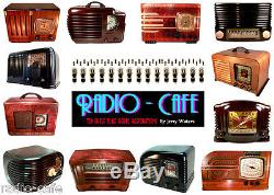 GORGEOUS 1941 Pre War ZENITH Art Deco Bakelite Tube Radio AM & SW Bands
