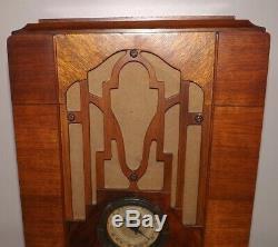 Gorgeous Wooden Rare Zenith Tube Radio Ser K269376 Model 807