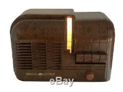 HAUNTED VINTAGE RADIO General Electric H-520 The Tombine With Ghostly Faces