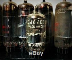 Lot of 120 Vintage Vacuum Tubes Radio TV Preamplifier Zenith Tung Sol HP GE (F)
