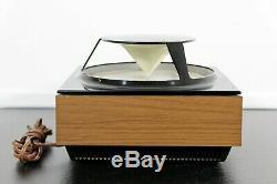Mid Century Modern Vintage Zenith AM/FM Circle of Sound Radio Model A424W 1970s