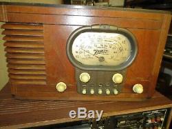 Nice Zenith 5S320 Racetrack radio working
