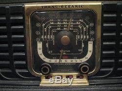Nice Zenith Transoceanic G500 Shortwave/AM Radio Trans-Oceanic SG40