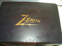 OLD VINTAGE ZENITH 2-M TWO STAGE AMPLIFIER, NICE DECAL, ALL ORIGINAL
