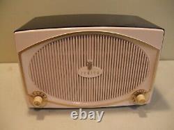 Pink and Black Vintage 1959 Working Zenith Model B513Y Tube AM Radio
