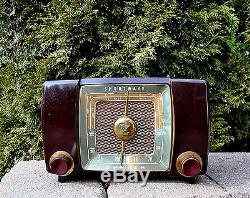 RARE Near MINT Antique Vintage ZENITH H517 Tube Radio Works Perfect -SEE VIDEO