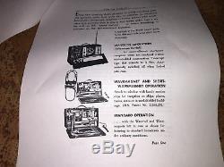 RARE Zenith Deluxe Model 7G605 Trans-Ocean Clipper Shortwave Bomber Tube Radio