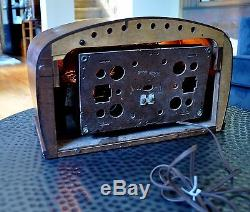 RESTORED Antique Vintage ZENITH 6D2615 DECO 1930's Old Tube Radio Works Perfect
