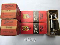 Radio / Amplifier tube One VINTAGE 32L7GT ZENITH brand (original box)