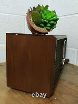 Radio ZENITH S-65234 Vintage Wooden Radio 1965Tube R Wooden Cabinet M730 WORKS