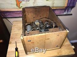 Rare Antique Zenith 808 Tombstone tube table radio