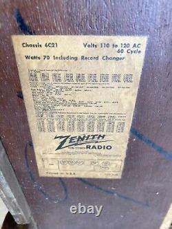 Rare CHARLES & RAY EAMES 1946 ZENITH RECORD PLAYER RADIO MODEL 6R084 KNOLL