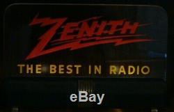 Rare Vintage Original Zenith Sign 1930's/40's